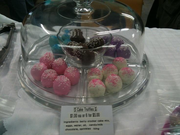 Cake Truffles - $1.00 each