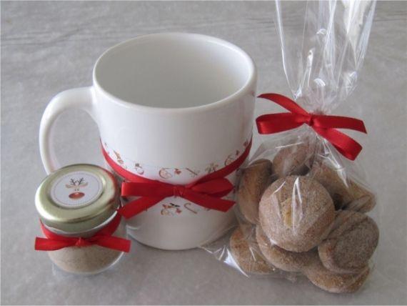 Faça lembrancinhas comestíveis de Natal gastando p