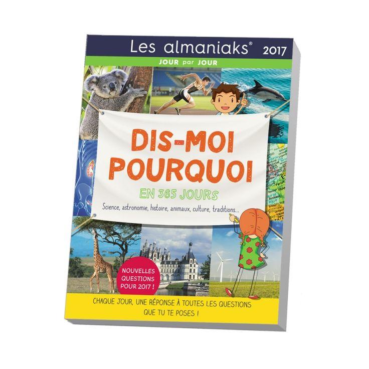 Les EDITIONS 365 présentent un ouvrage spécialement pour les enfants avec chaque jour une info insolite et amusante pour répondre à toutes les questions qu'ils se posent.