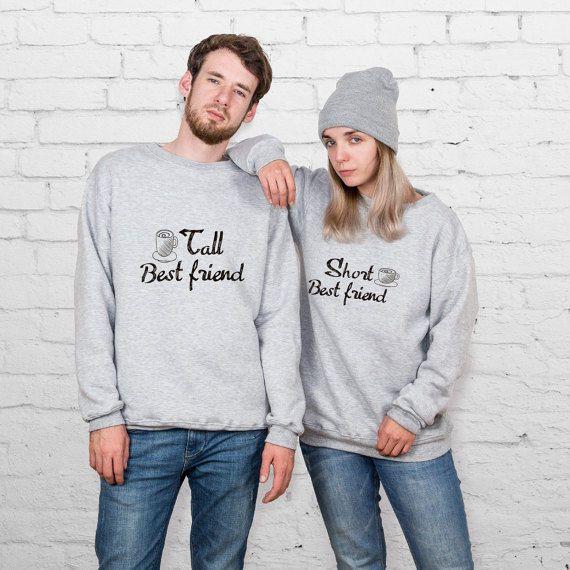 Parejas sudadera de San Valentín juego ropa pareja estuche suéteres para día ropa regalo YPc011 sudaderas par San Valentín