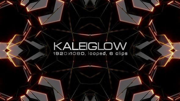 Kaleiglow Video Animation | 6 clips | Full HD 1920×1080 | Looped | H.264 | Can use for VJ, club, music perfomance, party, concert, presentation | #concert #dark #edm #glow #gold #kaleidascope #kaleido #loops #music #pattern #psychedelic #reflection #shine #spinning #vjloops