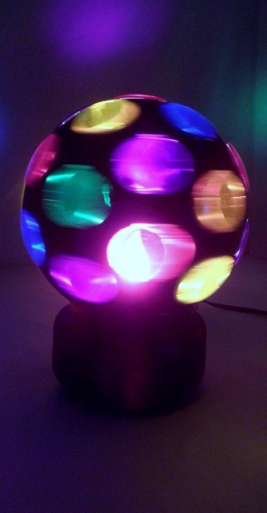 Lite F/X Big Ball of Lite DJ Disco Dance Multicolor Rotating Hanging Table  Light