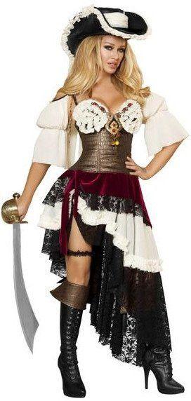 Sexy Pirateer Costume