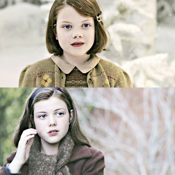 I've just realized that Georgie Henley has blue eyes: a rare occurrence when paired with brown hair, but she is quite beautiful.