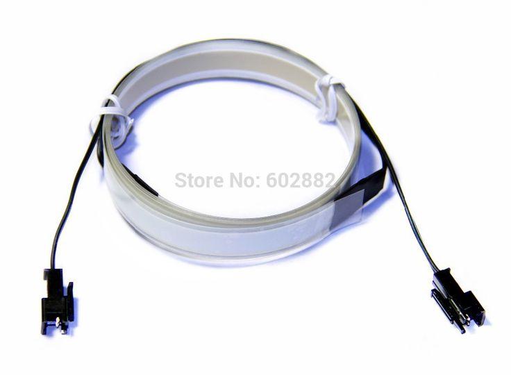 1 Metro EL Strip, EL cinta con 2 conectores de entrada, el producto libre del envío