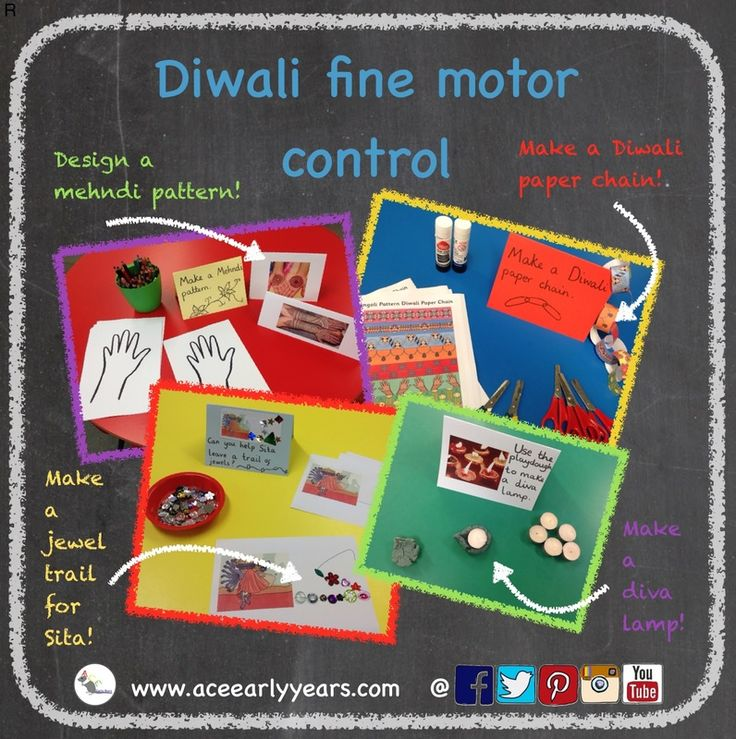 Here are some easy and fun Diwali fine motor activities - with a little help from Twinkl.com! #eyfs #earlyyears #finemotorcontrol #Diwali #ramaandsita #aceearlyyears