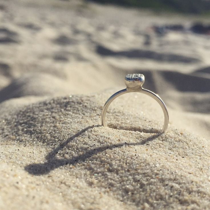 Charcoal Ring via silver theories. Click on the image to see more!