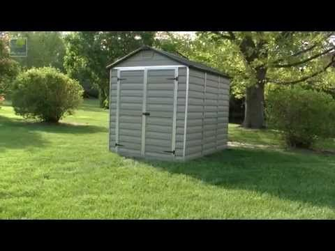 Palram Plastic Skylight Sheds for Sale | Greenhouse Stores