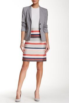 BOSS HUGO BOSS | Vistripy Pencil Skirt | Nordstrom Rack