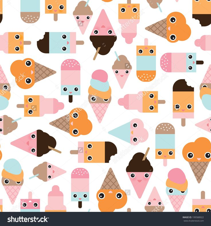 Cute Ice Cream Wallpaper: 216 Best ICE CREAM WALLPAPER Images On Pinterest