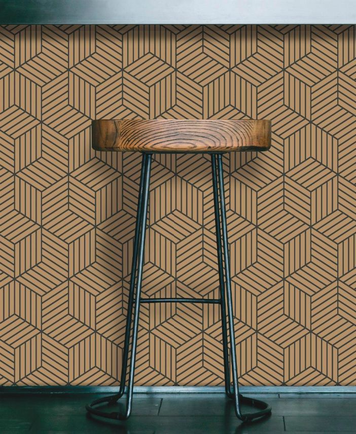 16 Creative Ways To Use Peel And Stick Wallpaper Living In A Shoebox Peel And Stick Wallpaper Removable Wallpaper Hexagon Wallpaper