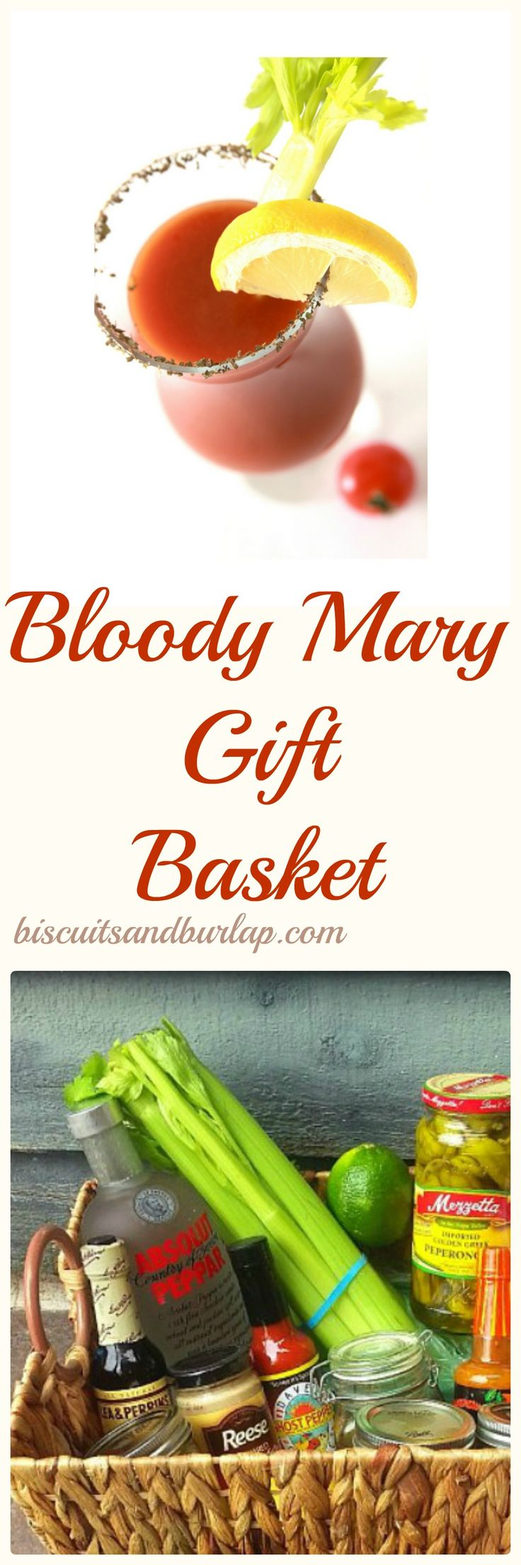 Bloody Mary gift basket alcohol