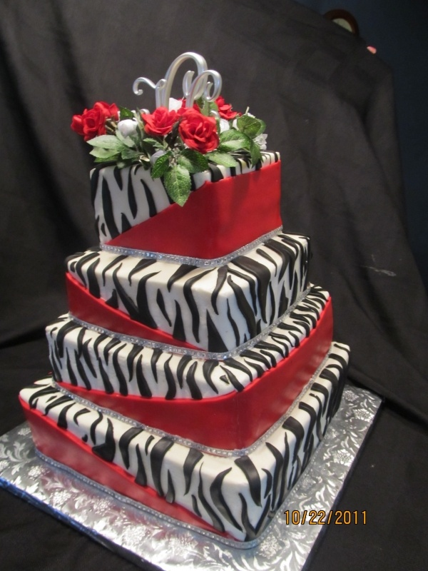 170 best Cakes Animal Striped images on Pinterest Petit fours
