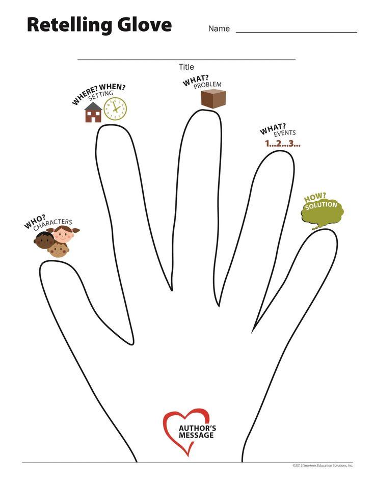 Retelling, Printable worksheets, Kindergarten worksheets