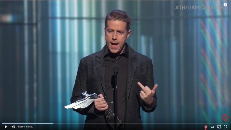 Did Geoff Keighley just flip the bird to Kojima? http://ift.tt/2h2B4Jb