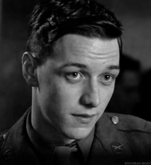 James McAvoy as Private James W. Miller gif   FassAvoy ...