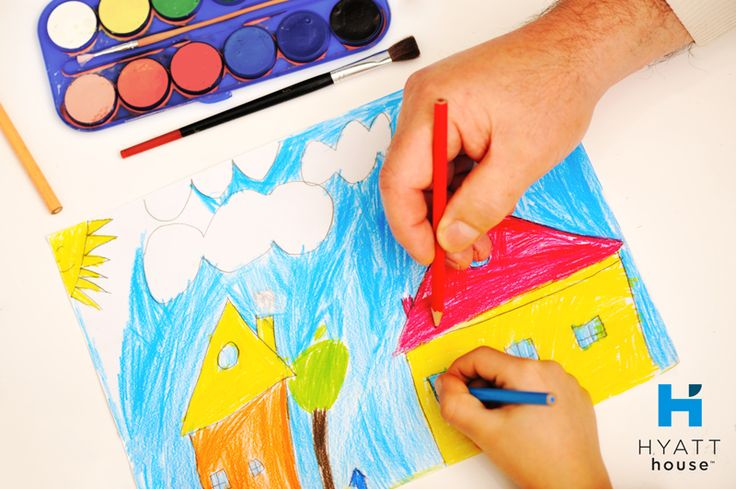 Let creativity grow with just a piece of paper, basic art supplies and a @hyatthouse spacious suite.