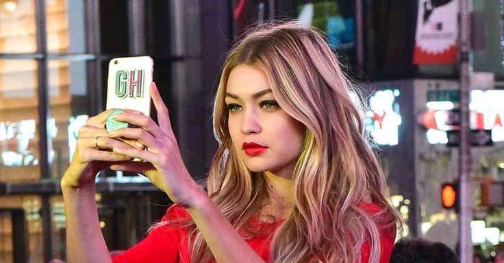 24 Times Gigi Hadid Nailed Her Beauty Look #GigiHadid #beauty #look #beautiful #model #redcarpet