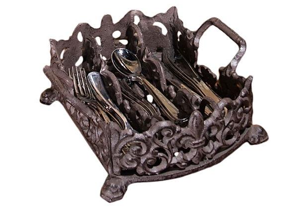 Wrought iron silverware home design ideas hq - Wrought iron flatware ...