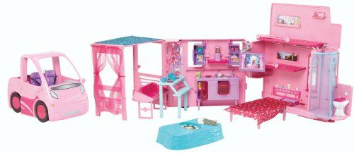 Barbie and Her Sisters in a Pony Tale RV Vehicle  http://www.bestdealstoys.com/barbie-and-her-sisters-in-a-pony-tale-rv-vehicle-2/