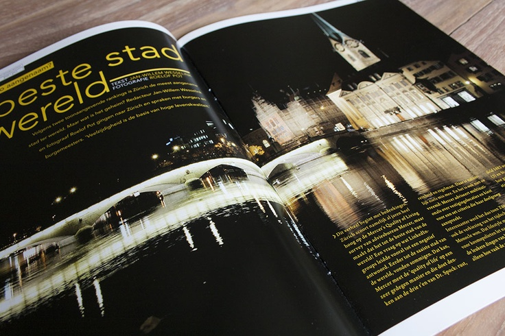 Vitale Stad detail 2012 by @Kilian Idsinga #Magazine #EditorialDesign