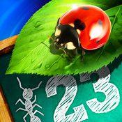 Bugs & Numbers - öva matematik i roliga insektsspel | Pappas Appar