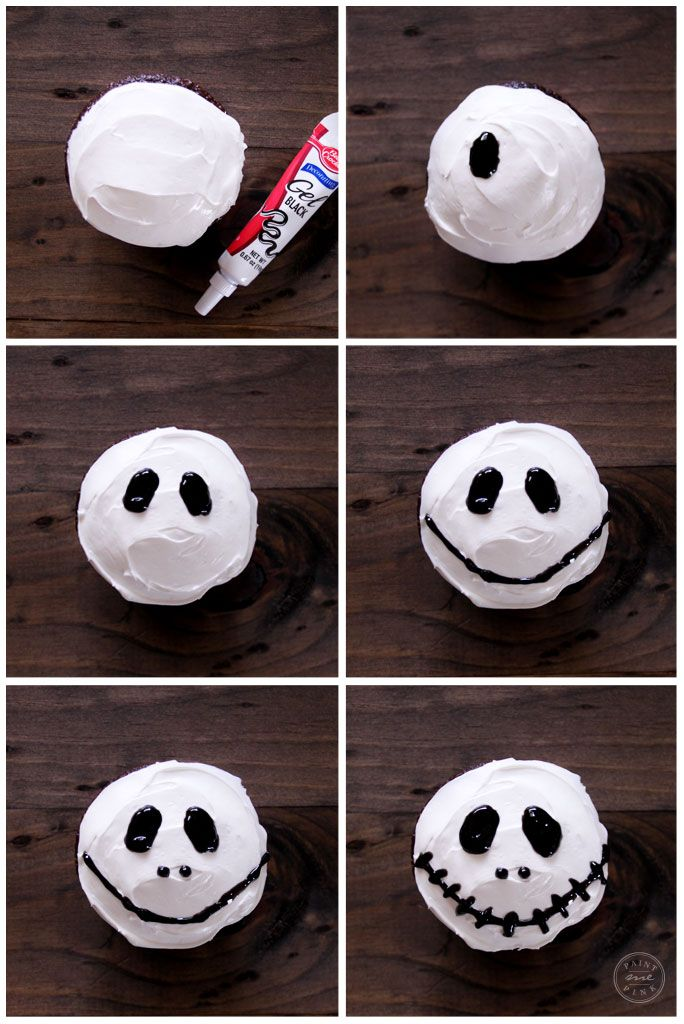 I've been making these spooky Jack Skellington cupcakes since Juliet was 3 years old, that's about 5 years now. And it's become quite the little tradition to make them in our home every October.  What I love about these cupcakes is...