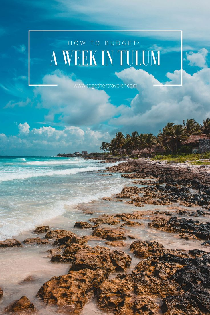 Everything you need to know to budget for a week in Tulum, Mexico. Here's exactly what I spent on transportation, accommodations, excursions, food and shopping while visiting the Riviera Maya and exploring the Yucatan peninsula.