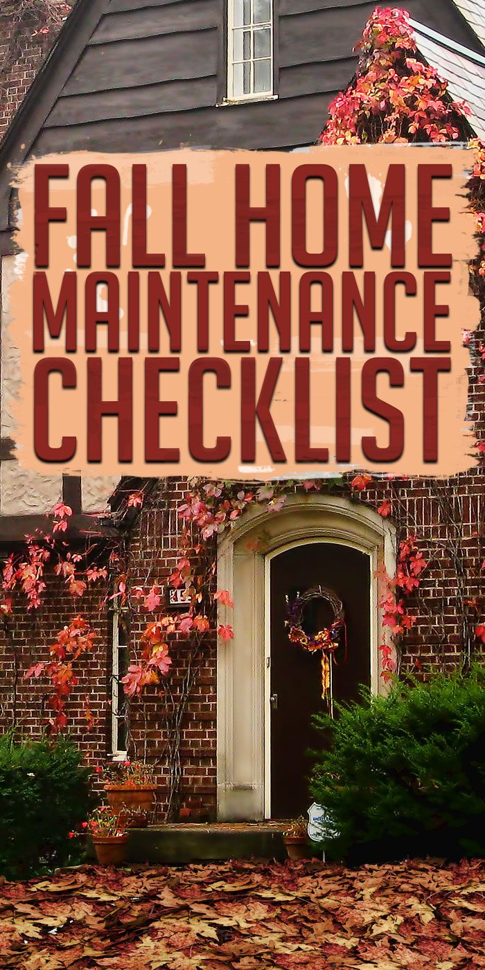 1000 ideas about home maintenance checklist on pinterest - Exterior home maintenance checklist ...