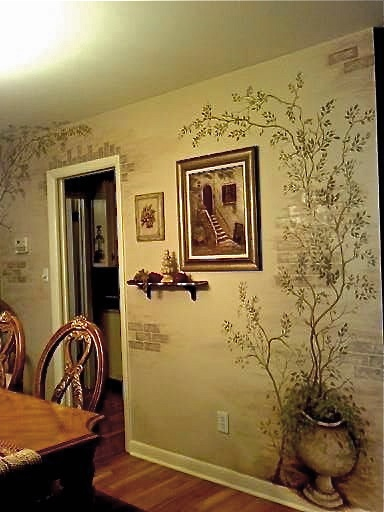 17 Best Images About Compound Wall Art On Pinterest Acrylics The Mud And Stencils