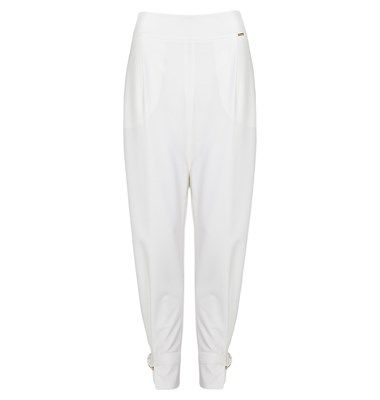 Crepe highwaist trousers