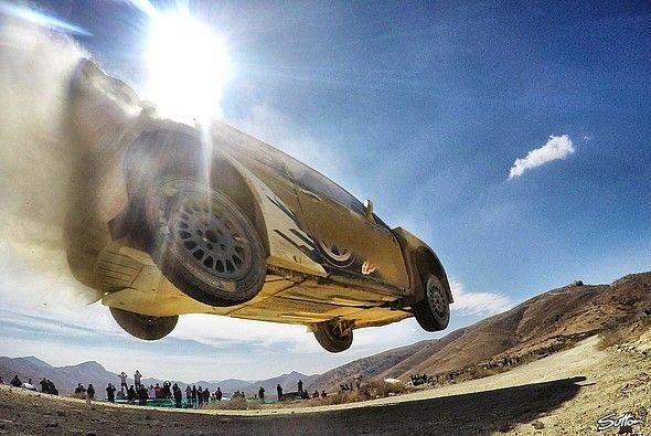 Jari-Matti Latvala fliegt zum Rallye Mexiko-Sieg