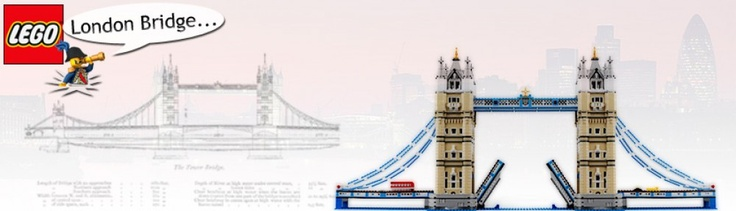 Lego Tower Bridge is modeled after the real London Tower Bridge. It measures 102 cm by 42 cm by 26 cm. It contains not only the bridge itself, but also a double-decker bus, a yellow truck, black taxi, and green car. At 4,287 pieces, it is the third largest architecture lego series set ever released.