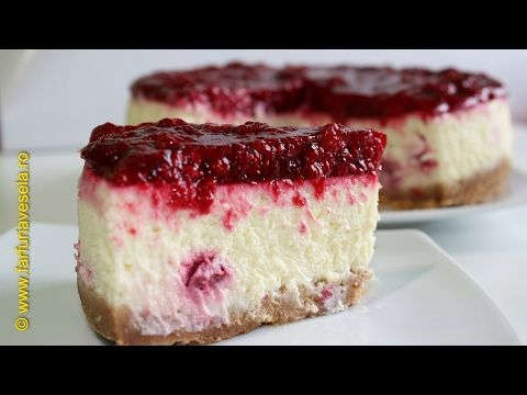 Cheesecake cu zmeura - YouTube