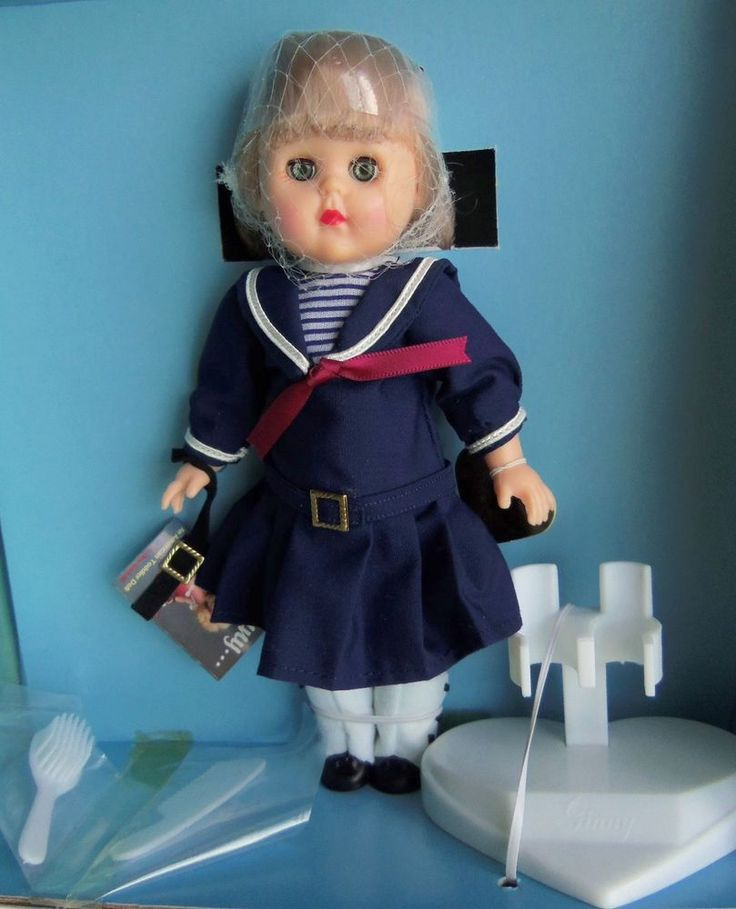 Vogue Ginny 1989 UFDC Convention LUNCEON SPECIAL Sailor Doll MIB MM