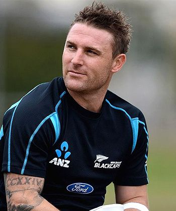 Brendon McCullum may not go behind the wickets again!