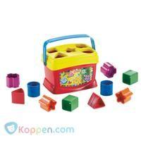 Fisher Price Baby's eerste blokken - Koppen.com