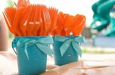 Do in teal & red for elmo party...finding nemo party ideas - Bing Images