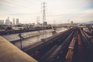 Los Angeles City Railroads HD Wallpaper