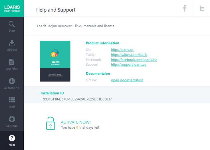 Loaris trojan remover licence key download