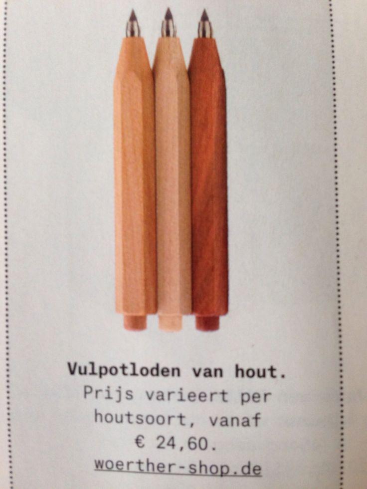 Vulpotloden, hout