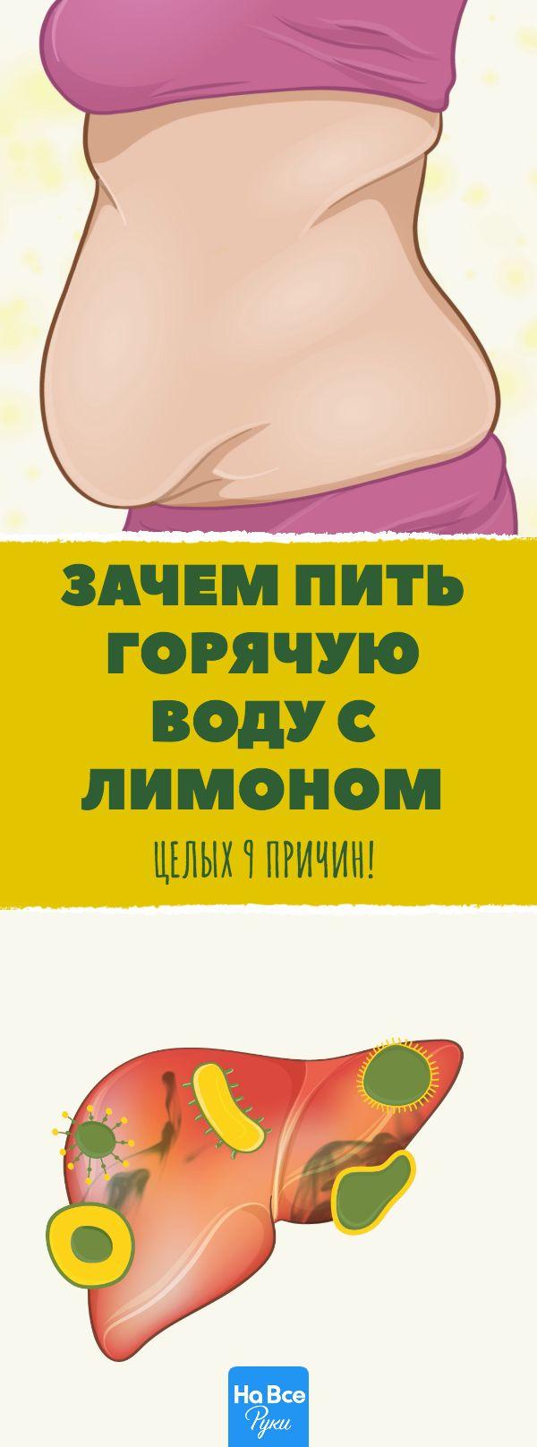 Вот что будет, если 8 недель подряд пить по утрам горячую воду с лимоном. #здоровье #зож #витамины #лимон #похудение #детокс #рецепты