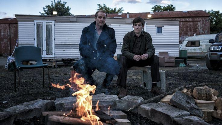 Emmet Kirwan and Iain Glen in Jack Taylor: Shot Down