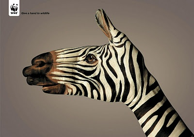 Give a hand to wildlife (WWF)