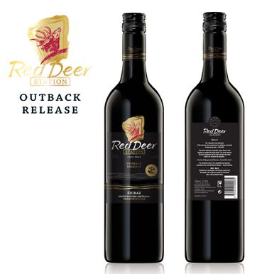 Just bottled and released our new 2012 Outback Shiraz.. Pepper and Spice!