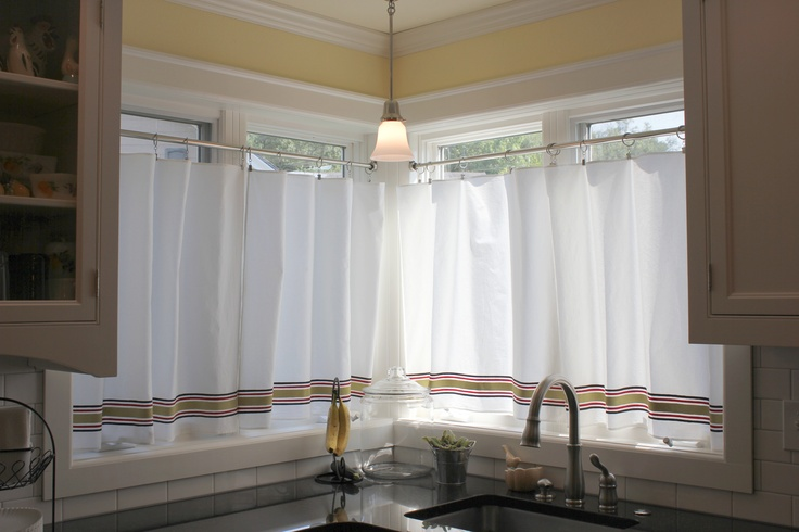 Ring Top Cafe Curtains
