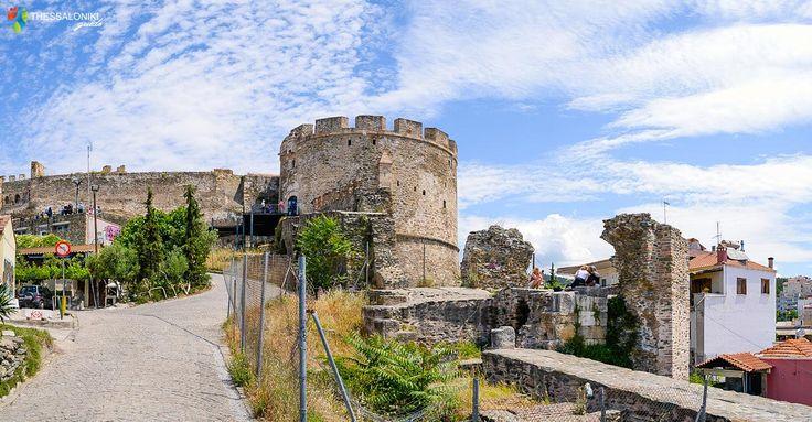 Ανηφοριζοντας προς τα Κάστρα της Θεσσαλονίκης