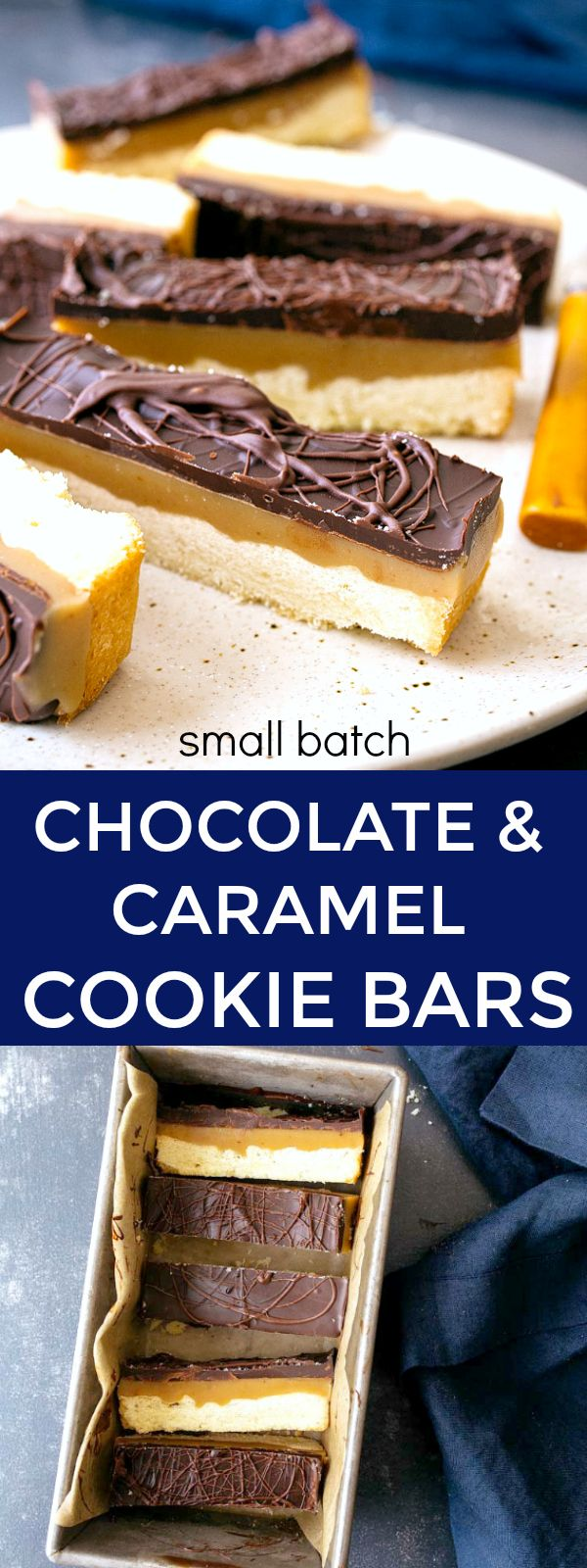 Chocolate and Caramel Cookie Bars | Posted By: DebbieNet.com