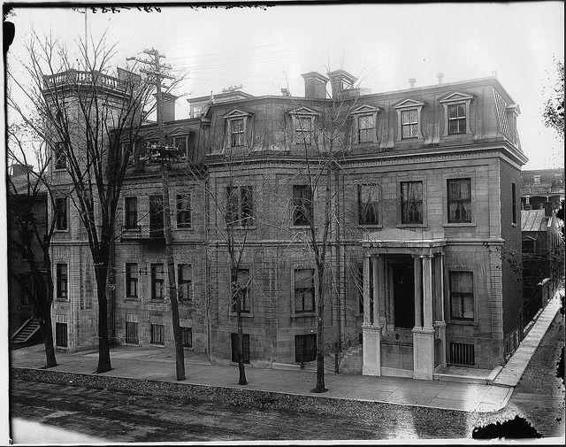 Mr. Baumgarten's house, McTavish Street, Montreal, QC, 1904 by Musée McCord Museum, via Flickr