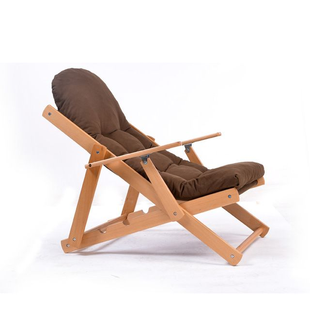 Мягкие и удобные ленивый стул деревянный складной лежащего стул складной стул отдыха обед балкон мебель для спальни купить на AliExpress